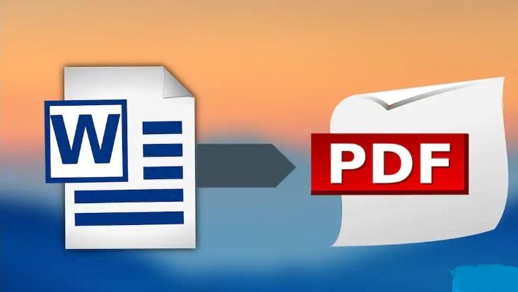 Word Belgesini PDF Olarak Kaydetme