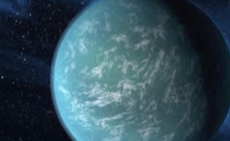 Exoplanet' te Su Tespit Edildi.