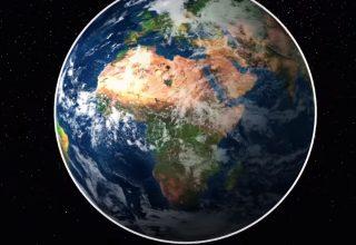 Evren Düz Değil Kavisli Olabilir Mi?