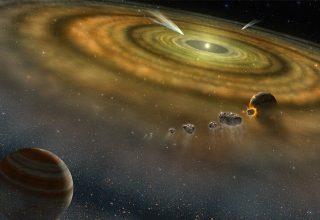 Meteorlar Güneş Sistemini Nasıl Oluşturdu?