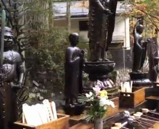 Japonya'nın En Büyük Mezarlığı' nı görün!