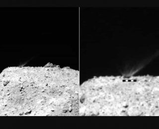 Japonya'nın Uzay Sondası Genç Bir Kayayı Ortaya Çıkardı.