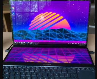 Asus ZenBook Pro Duo Çift Ekranı Yeniden Üretti.