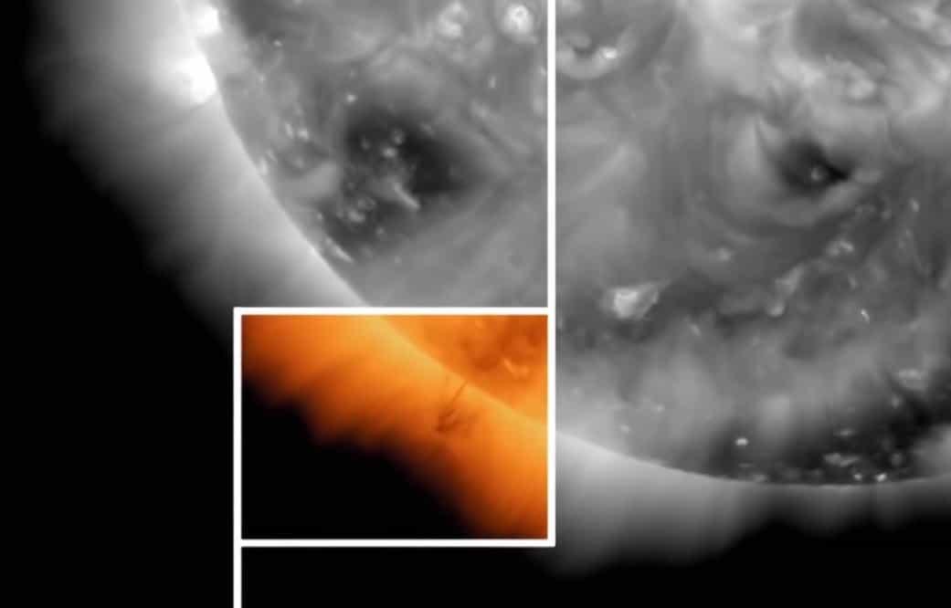 Güneşe yakın görünen nesne görseli